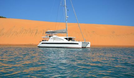 Leopard 48 sailing catamaran owners version