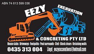 Eezy Excavation & Concreting Pty Ltd Bateau Bay Wyong Area Preview