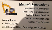 MANNY'S RENOVATIONS