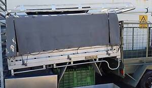 Toyota Landcruiser Plumbers Tray and Canopy with Toolbox Osborne Park Stirling Area Preview