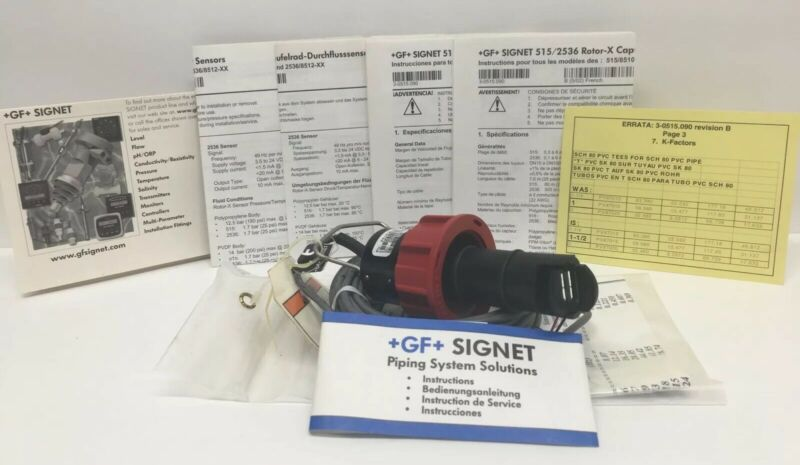 Georg Fischer Signet P51530-P0 Flow Sensor Paddle Wheel