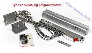 520mm Glasmaßstab die Auflösung ist programmierbar (umstellbar im Stecker)