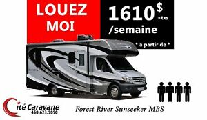 2018 Forest River LOCATION CLASSE C MERCEDES SPRINTER