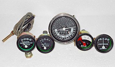 John Deere Tachometer + Temp + Oil + Amp + Fuel Gauge