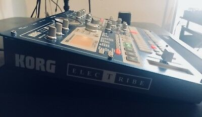 Korg Electribe EMX 1 MX / EMX-1 with Power Cord, AND 128 MB SM CARD! Clean!  USA