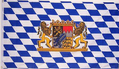NEW 2x3 ft BAVARIA LION OKTOBERFEST BAVARIAN GERMAN BEER FLAG - Oktoberfest Flag