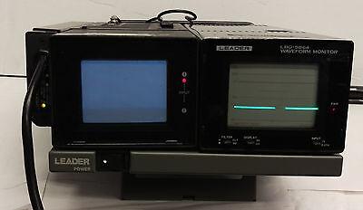 Leader Lvm-5863a Video Monitor Mn Tm-p3 Lbo-5864 Waveform Monitors
