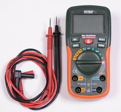 Extech Instruments Mini Multimeter Infrared Thermometer Exe230