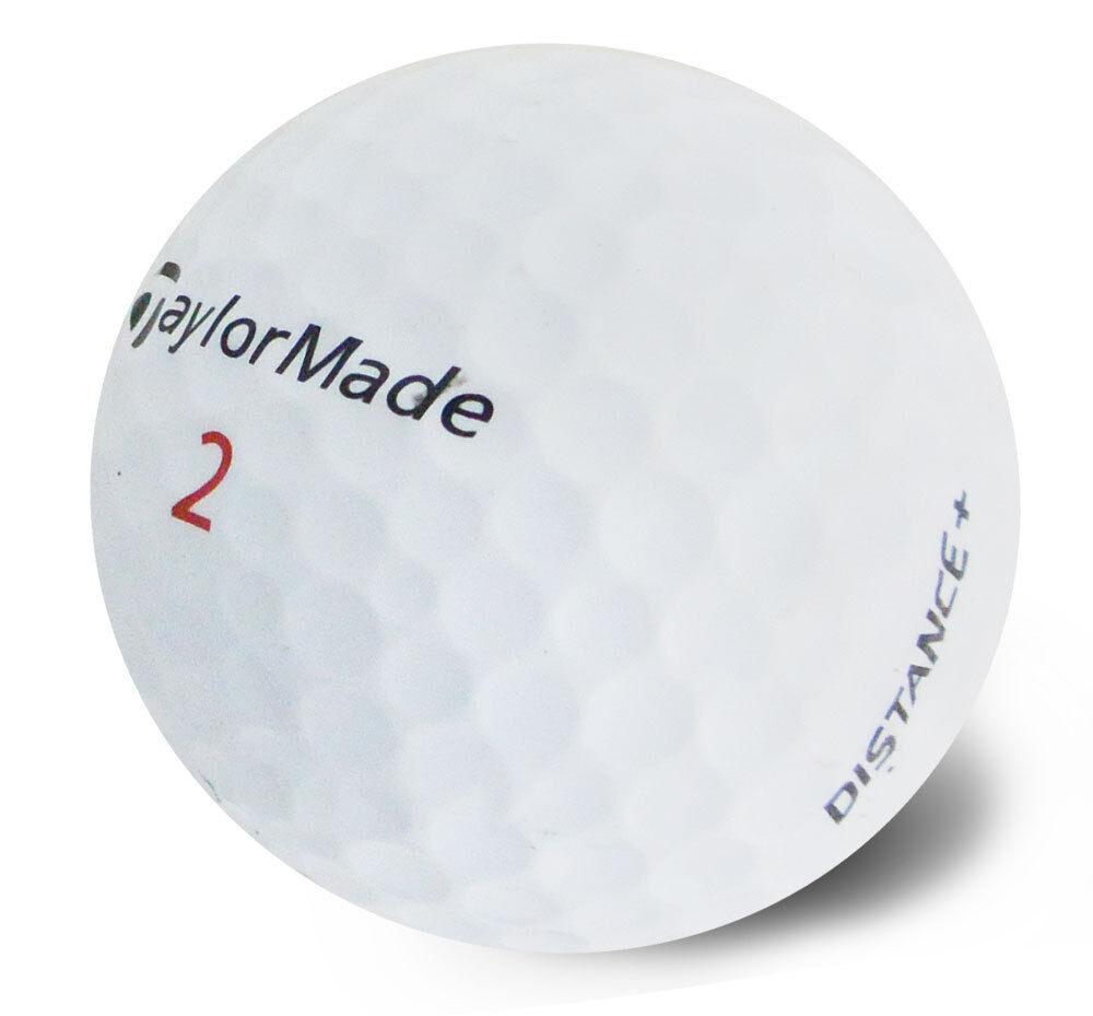 "2 DOZEN  TaylorMade "" Distance+""  MINT Condition Golf Balls"
