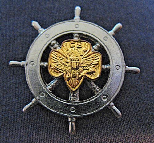 1940s Mariner Girl Scout Membership Pin EUC Ship