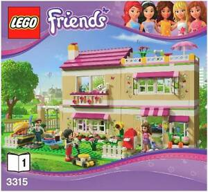 LEGO Friends Olivia's House Casuarina Tweed Heads Area Preview
