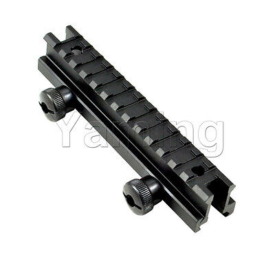 Rifle Scope Riser Mount Flat Top Low Profile 0.5