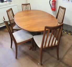 FREE DELIVERY Vintage Mid Century 1960s Teak G Plan Dining Table