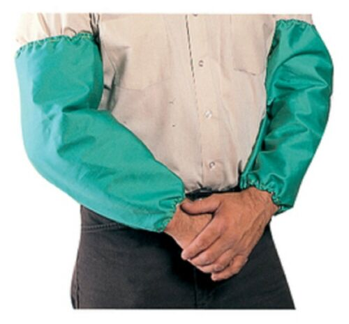 """10 Pairs Tillman® Large 18"""" Green Cotton Westex® FR-7A® Flame Resistant Sleeves"""