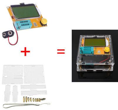 Lcr-t4 Mega328 Transistor Tester Diode Triode Capacitance Esr Mos Portable Bbc