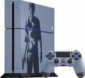 Playstation 4 1tb uncharted edition