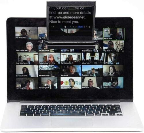 Little Prompter Compact Teleprompter Video Production DSLR Webcam Laptop iOS
