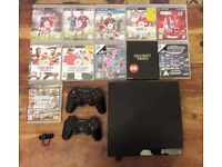 Playstation 3 plus 11 games