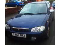 Spares or MOT Mazda 323 that still drives lovely