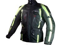 RK Sports 8080 Fluorecent Textile Waterproof Motorcycle Jacket - Was £149.99