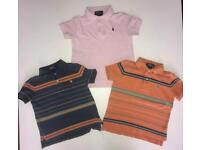 Boys Ralph Lauren polo top bundle 2/2T years