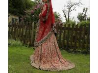 (BRAND NEW) Beautiful Indian wedding gown