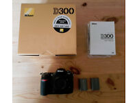 Nikon D300 DSLR Body Only – Boxed in Excellent condition