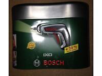 Bosch ixo cordless screwdriver only £20