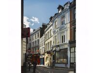 Private offices for 4-12 people off Oxford St & Soho Sq, private landlord and super speed broadband!