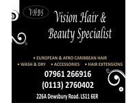 Experineced Afro Carribean Hair stylist required