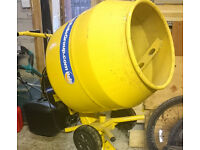130 litre 450 watt Wickes cement mixer