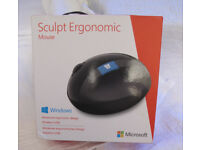 Wireless Microsoft Ergonomic Mouse - All day Comfort