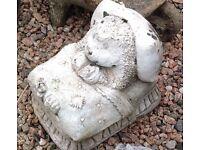 Hedgehog stone ornament