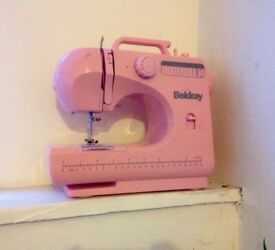 Pink Beldray 12 Stitch Sewing Machine
