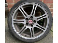 Honda Civic EP3 Type r Alloy Winter Wheels with Part worn Nokian Winter Tyres