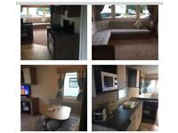 25-28 MAY HAGGERSTON CASTLE CANCELLATION DULXE 8 BERTH CARAVAN 3 BEDROOM