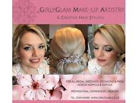 GirlyGlam - Wedding, Bridal, Prom, Occasion & Event Make-Up & Hair-Up Service in Norfolk & Suffolk.