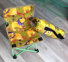 Fun fold-up seat for child up to approx 3 years