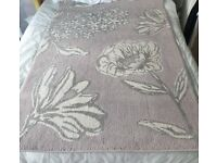 Lilac floral rug