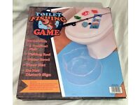 Toilet Fishing Leisure Fishing Game Novelty Toy Joke