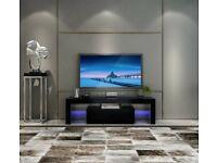 *BRAND NEW* RGB LED TV STAND 130CM -BLACK