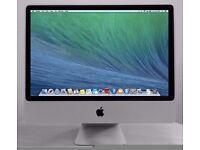 "Apple imac 24"" 4gb ram 250gb hdd"