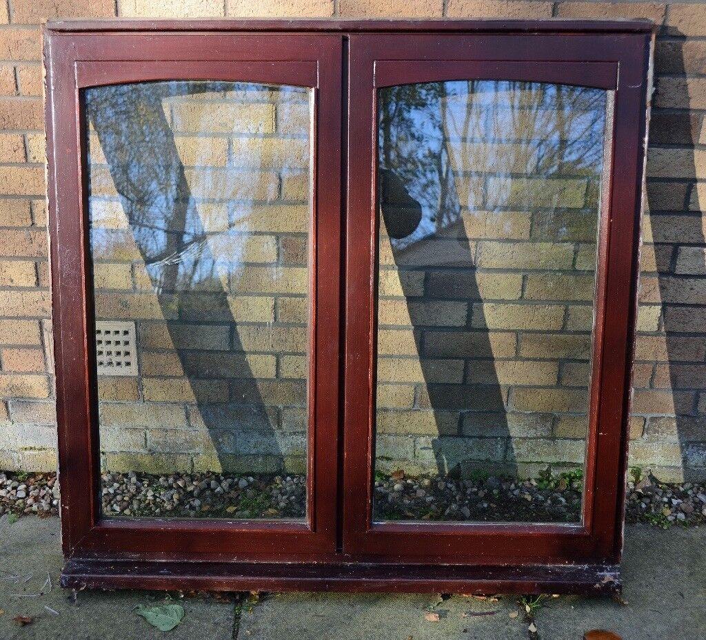 Hardwood double glazed casement window