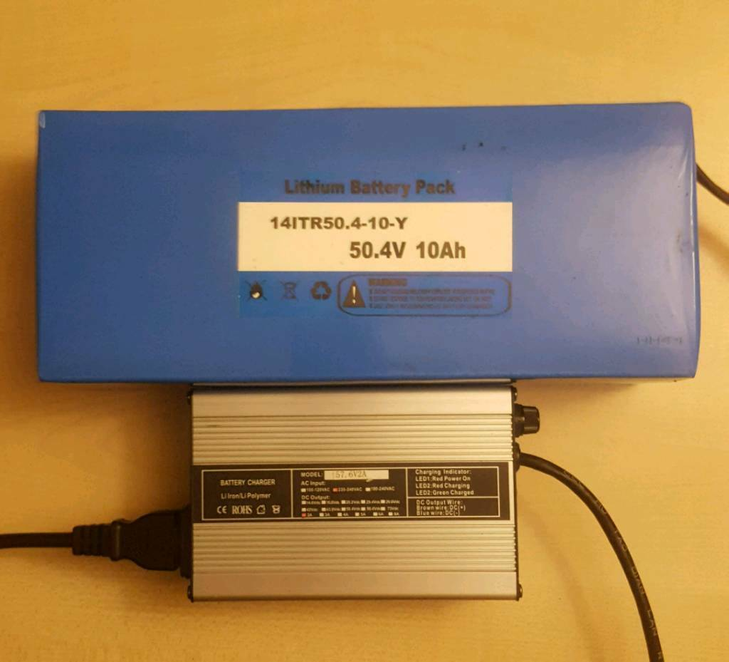 48 Volt Lithium Electric Bike Battery Charger In Kidderminster Cellphone Using