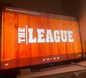 "LG 4k smart tv 49"""
