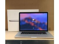 "Apple Macbook Pro 15"" Retina i7 2.8Ghz 16GB 512GB SSD intel iRis Pro GPU AST104"