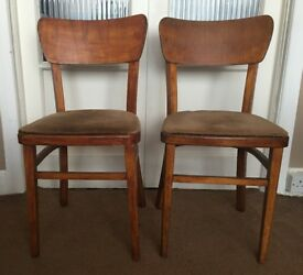 2 Cute Vintage Chairs £10 Turn into Shabby Chic? Smoke free home
