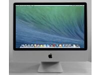 Apple iMac 24' 2.66Ghz 8Gb Ram 640GB Cubase Pro Tools Ableton 9 Native Instruments iZoTope Mastering