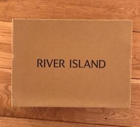 River Island Pointed Black Sammi Heels Stilettos