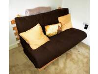 Futon - double bed settee